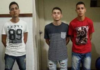 Trio que ameaçou homem de morte com arma de brinquedo acaba preso