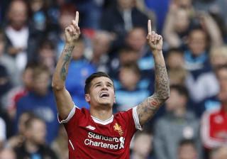 Coutinho marca e Liverpool se classifica à  Liga dos Campeões