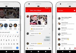 YouTube cria aplicativo de bate-papo
