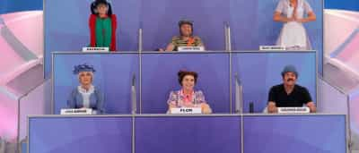 Turma dos Pontinhos homenageia Chaves no 'Programa Silvio Santos'