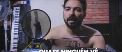 Youtuber faz paródia de clipe e música de Tiago Iorc; ouça