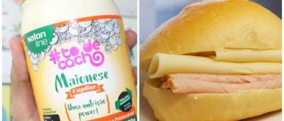 Jovem descobre que usou maionese capilar no pão e se revolta; veja!