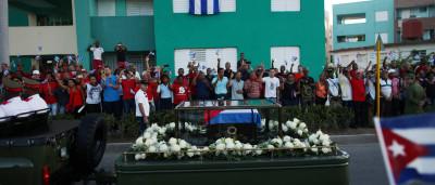 Fidel Castro é enterrado em Santiago de Cuba