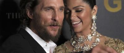 Matthew McConaughey diz que brasileira  o rejeitou no 1º encontro