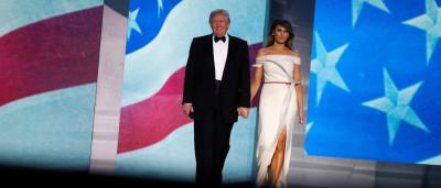 Melania Trump desenhou vestido da posse  junto a estilista francês