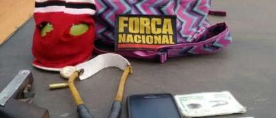 Dupla é detida antes de arremessar arma e materiais para Alcaçuz