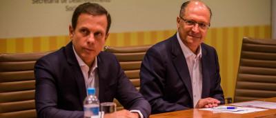 Alckmin está 'muito constrangido' com  citação em delação, diz Doria