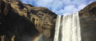 Skógafoss: vídeo mostra uma das maiores cachoeiras da Islândia