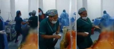 Enfermeiras são demitidas após dançarem diante de paciente nua
