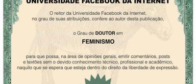 Viciado em 'textão'? Página dá diplomas para experts nas redes sociais
