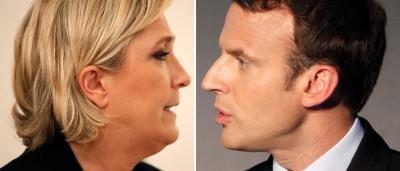 Boca de urna coloca Macron e Le Pen no 2º turno na França