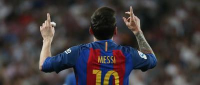 Com 2 de Messi, Barcelona vence Real de virada em Madrid