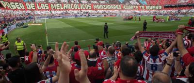 Atlético de Madrid bate o Athletic Bilbao na despedida do Calderón