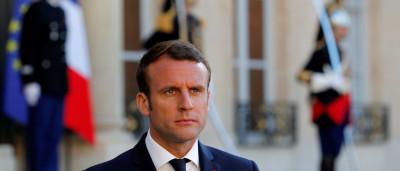 Macron debate reforma trabalhista  com sindicato e empresários