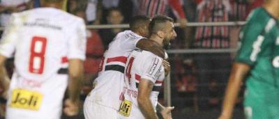 São Paulo derrota o Palmeiras e mantém tabu no Morumbi