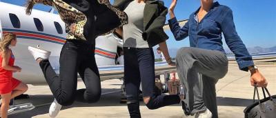 Hora de viajar: os looks dos famosos na hora de embarcar no avião