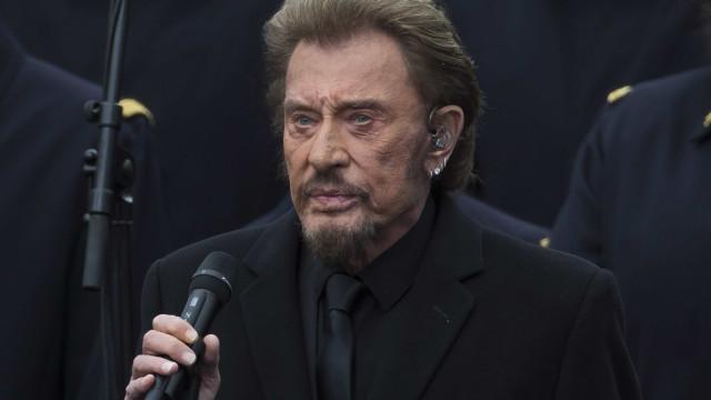 Morre aos 74 anos roqueiro francês Johnny Hallyday