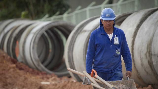 Construção corta 2,3 mil vagas de trabalho em fevereiro