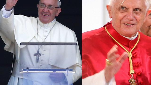 Bento XVI denuncia 'preconceito' contra Francisco