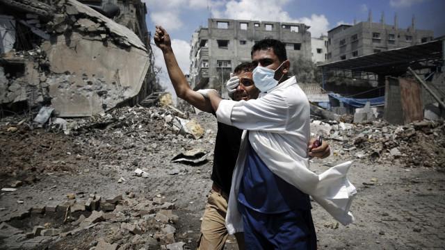 Palestino morre e seis ficam feridos em confrontos na Faixa de Gaza
