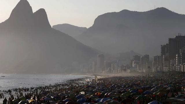 Com 42,2 graus, Rio bate novo recorde de temperatura
