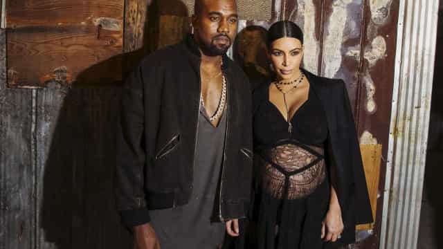 Kim Kardashian e Kanye West são assaltados e têm três carros destruídos