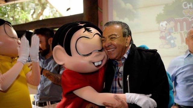 Mauricio de Sousa anuncia abertura de seu estúdio para fãs