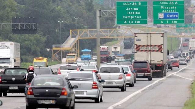 Rodovias Anhanguera e Fernão Dias têm lentidão