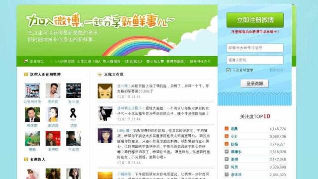 Plataforma chinesa Weibo censura conteúdos sobre homossexualidade