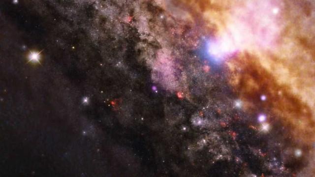 Cientistas descobrem 2 buracos negros supermassivos que podem colidir