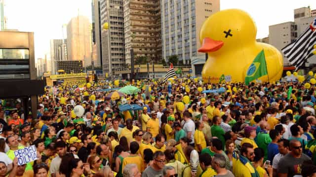 Manifestações a favor e contra impeachment têm 13 detidos em SP