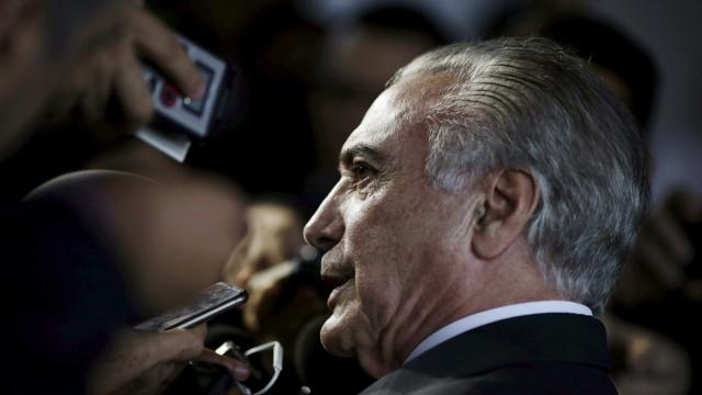 'Nossa responsabilidade aumentou',  diz Temer após impeachment