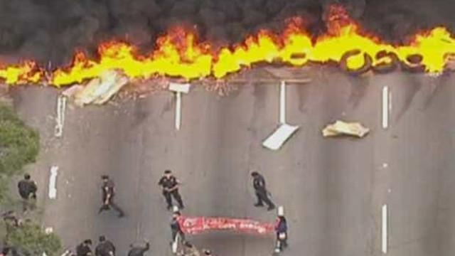 MTST bloqueia rodovias e avenidas no estado de São Paulo