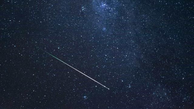 Chuva de meteoros poderá ser vista neste fim de semana no Brasil