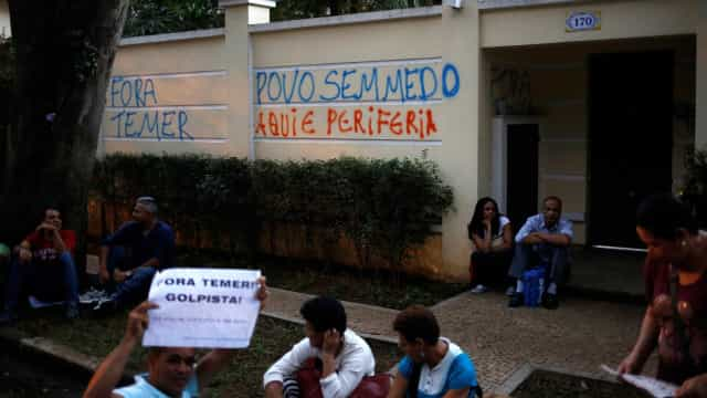 Temer é aconselhado a permanecer em Brasília para evitar protestos