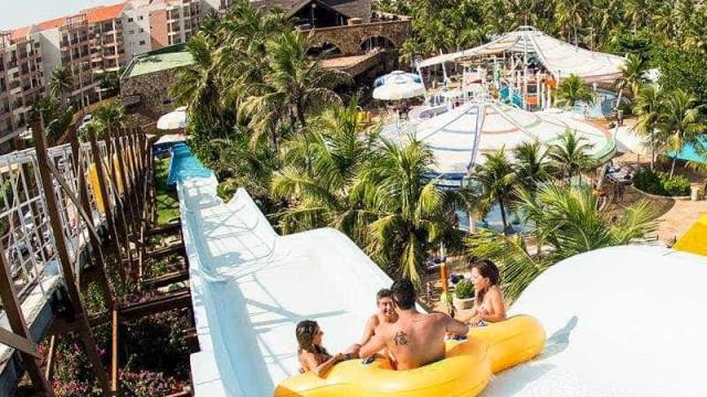 Turistas furaram boias para escapar de atração no Beach Park em janeiro