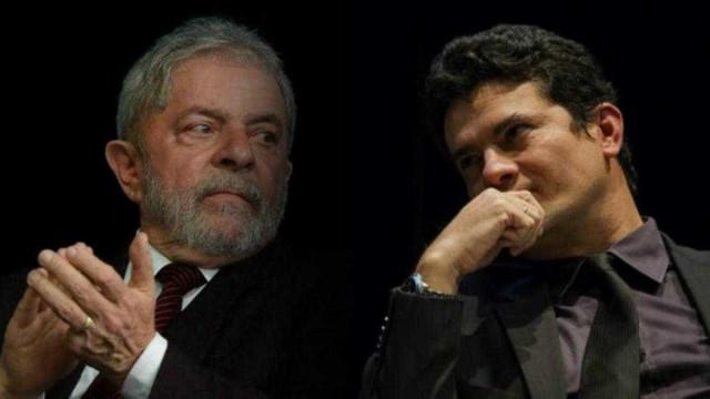 Moro e Lula voltam a ficar frente a frente nesta quarta-feira