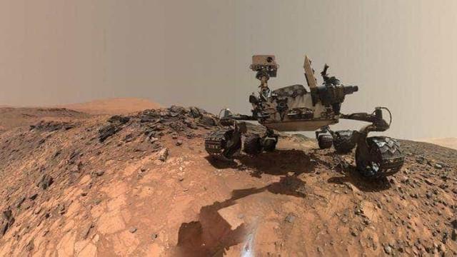 Robô Curiosity da NASA comemora 6 anos em Marte
