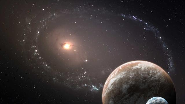 Detectados 15 sinais provenientes de uma galáxia anã
