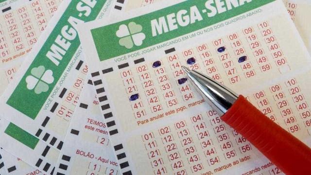 Mega-Sena: duas apostas dividem prêmio de quase R$ 66 milhões