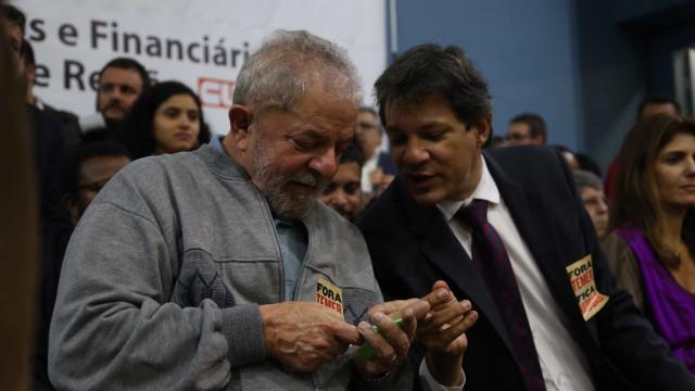 Para Lula, eleição de Haddad pode agravar sua situação jurídica