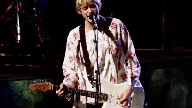 Exposição de Kurt Cobain é destruída por incêndio em Washington