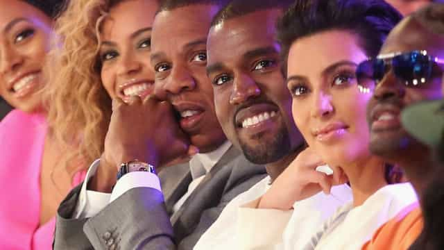 Beyoncé e Jay-Z oferecem presente com diamantes a bebê de Kim e Kanye