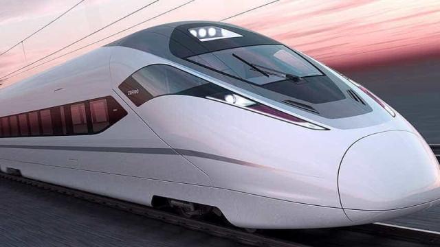 China cria trem que pode atingir velocidade superior à dos caças