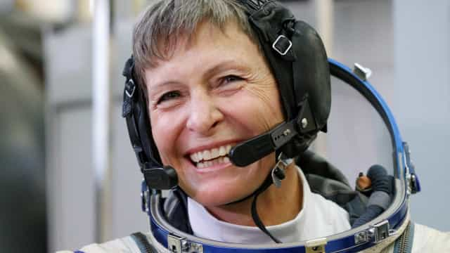 Astronauta com mais tempo no espaço se despede da Nasa