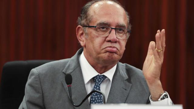 Gilmar Mendes se irrita com pergunta de repórter: 'Enfia na b****'