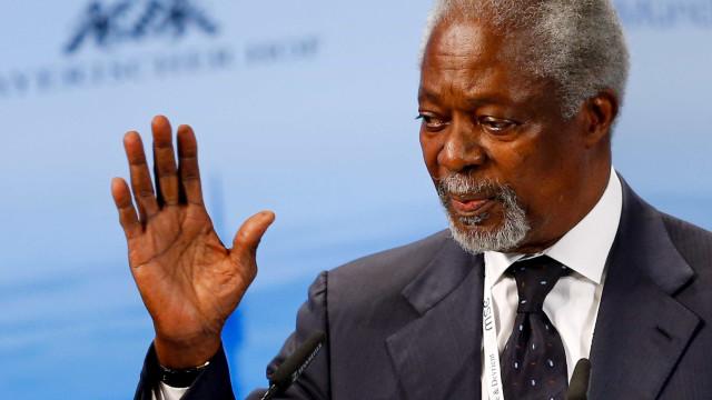 Em nota, governo brasileiro lamenta morte de Kofi Annan