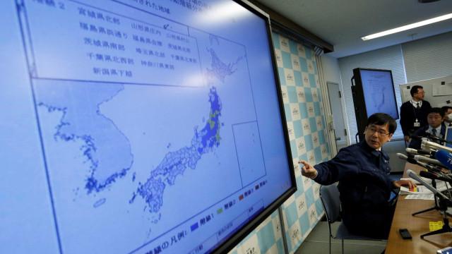 Após Iraque, terremoto de magnitude 6,2 atinge a costa do Japão