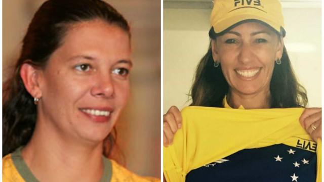 Ex-colegas de vôlei, Ana Paula e Ana Moser trocam farpas sobre política