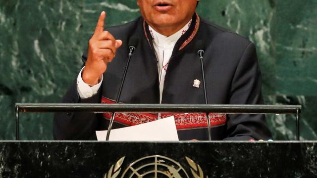 Evo Morales sobre posse de Bolsonaro: 'Somos sócios estratégicos'